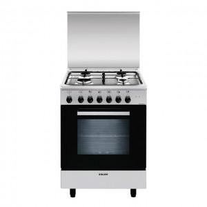 Glem Gas Cucina con Forno Elettrico Multifunzione 6 funzioni A654MI6