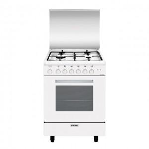 Glem Gas Cucina con Forno Elettrico Multifunzione 6 funzioni A654MX6