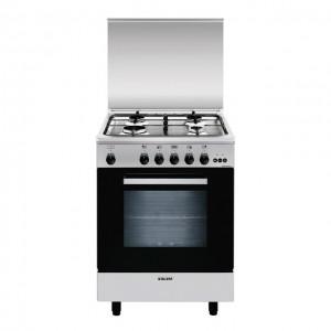Glem Gas Cucina con Forno Gas + Grill Elettrico + Ventola A654VI
