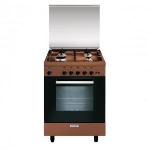 Glem Gas Cucina con Forno Gas + Grill Elettrico (Misto) A664GC
