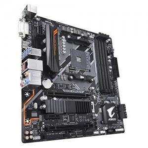 Scheda Madre B450 AORUS M Gigabyte B450 AORUS M DDR4, M.2, Realtek GbE, USB 3.1
