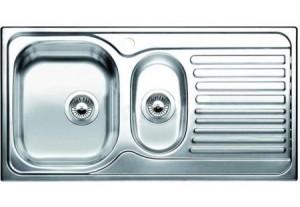 Lavello da Incasso 2 Vasche + Gocciolatoio Blanco TIPO 6 SB Vasca Sx 1316496