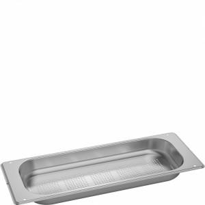 Bacinella forata finitura acciaio inox da 17.6 cm per forni Smeg BX640P