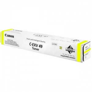 C-EXV49y Toner Originale Canon Giallo C-exv49y 8527b002 - 19000 Pagine
