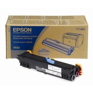 Toner Epson Originale Nero C13s050522 S050522 - 1800 Pagine Incl. Sviluppatore
