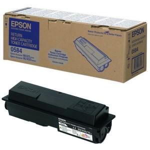 Toner Epson Originale Nero C13s050584 S050584 - 8000 Pagine