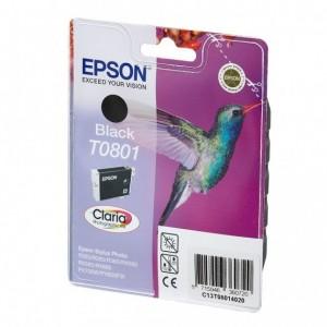 Cartuccia d'inchiostro Epson Originale C13T08014011 T0801 Nero