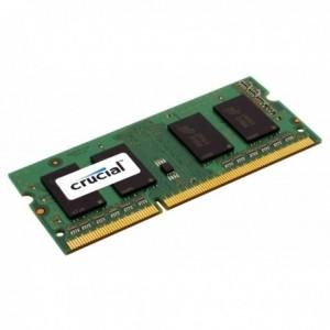 Memoria Ram Crucial Ddr3 So-Dimm Pc1600 8Gb Cl9 Ct102464Bf160B