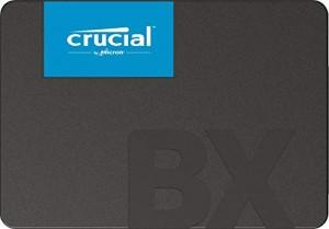 Hard Disk Interno CT240BX500SSD1 Crucial BX500 SSD 240 GB, 3D NAND, SATA, 2.5 pollici