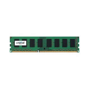Memoria Ram Crucial CT51264BD160BJ da 4 GB, DDR3L, 1600 MT/s, PC3L-12800, Single Rank, DIMM, 240-Pin