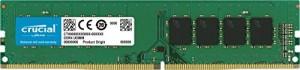 Memoria Ram Crucial CT8G4DFS824A da 8 GB, DDR4, 2400 MT/s, PC4-19200, SR x8, DIMM, 288-Pin