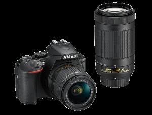 Fotocamera Reflex Nikon D5600 + AF-P 18-55 VR + AF-P 70-300 VR