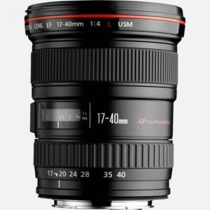 Obiettivo Canon EF 17-40mm f/4.0L USM - 8806A007