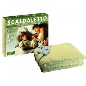IMETECSGR16234Scaldaletto, Peluche 50% Lana, Matrimoniale