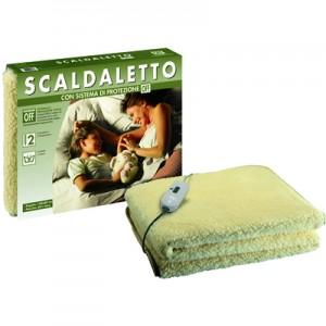 IMETECSGR 16233Scaldaletto, Peluche 50% Lana, Singolo
