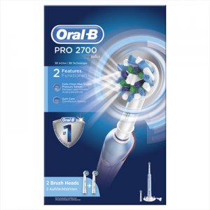 Oral BSpazzolino Elettrico Pro 2700 Colore Bianco e Blu