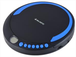 MajesticDm-1500 Lettore Compact Disc Portatile Compatibile Con Cd Audio / Mp3 / Wma Display Lcd Funzioni Riproduzione/pause, Salto/ricerca Traccia, Stop Funzioni Repeat 1 / All & Directory Funzioni Riproduzione Casuale (random) & Intro Funzione