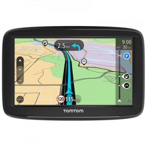 """TOMTOMStart 52 Display 5"""" Memoria 8GB +Slot MicroSD Mappe Europa 45 paesi con aggiornamento gratuito a vita + indicatore di corsia avanzato test"""