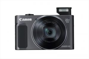 "CANONFotocamera Digitale PowerShot SX620 HS 20,2 Mpx Zoom Ottico 25x Display LCD 3"" Wi-Fi NFC - Nero"