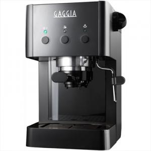 GAGGIAGG2016 Macchina del Caffè Espresso Manuale Capacità 1 Litro Colore Nero