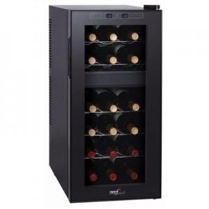 Cantinetta 18 bottiglie, due vani, 50 litri, display temperatura, tasti sfioramento Melchioni Family Vermentino Dual