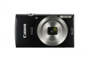 """CANONFotocamera Digitale IXUS 185 20 Mpx Zoom Ottico 8x Display 2.7"""" Colore Nero"""