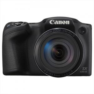 """CANONFotocamera PowerShot SX432 IS 20mpx Display 3"""" Zoom ottico 45x Wi-Fi e NFC Colore Nero"""