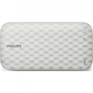 PHILIPS Bt-3900 W EverPlay Altoparlante Wireless Portatile Potenza 4 Watt Colore Bianco