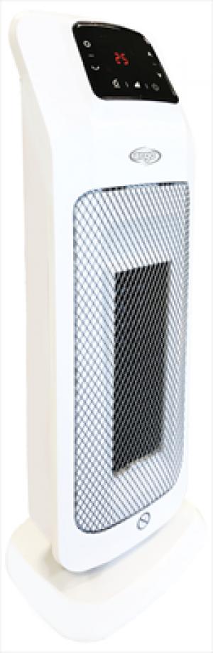 ARGOMOOD Termoventilatore Ceramico Potenza 2000 Watt Colore Bianco / Grigio