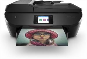 HPStampante Multifunzione Envy 7830 Inkjet a Colori Stampa Copia Scansione Fax 22 ppm (B / N) 21 ppm (a Colori) Wi-Fi Ethernet USB 2.0