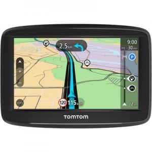 """TOMTOMStart 42 Display 4.3"""" Memoria 8GB +Slot MicroSD Mappe Europa 45 paesi con aggiornamento gratuito a vita + indicatore di corsia avanzato"""