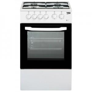 BEKOCucina Elettrica CSS42014FW 4 Fuochi a Gas Forno Elettrico Classe B Dimensioni 50 x 50 cm Colore Bianco