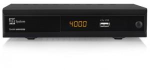 TELESYSTEMDECODERTs4000 ComboDIG TERR + SAT + REC + USB