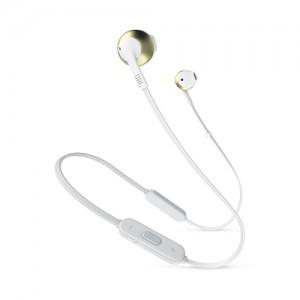 JBLAuricolari Tune 205BT Wireless Bluetooth con Microfono e Comando Universale Colore Champagne Oro