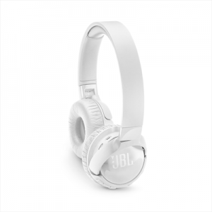 JBL Cuffie On-Ear TUNE600BT Wireless Bluetooth Microfono con Cancellazione Attiva del Rumore Colore Bianco