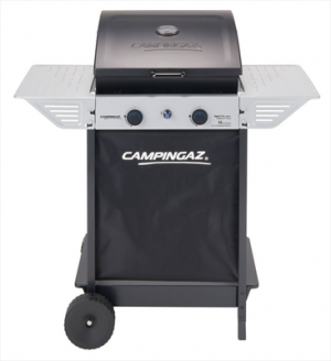 CAMPING GAZCampingaz 2 Series Classic 3000004826 Xpert 100 L Plus Rocky Barbecue Carrello Gas naturale 7100W Nero, Argento