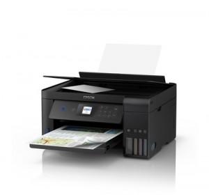 EPSONStampante Multifunzione EcoTank ET-2750 Inkjet a Colori Stampa Copia Scansione 33 ppm (B / N) 15 ppm (a Colori) Wi-Fi USB