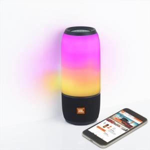 JBL Pulse 3 Bluetooth Speaker - Black