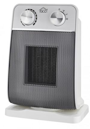 DCGStufetta Elettrica in Ceramica Rotante Potenze 900/1800 Watt Colore Bianco