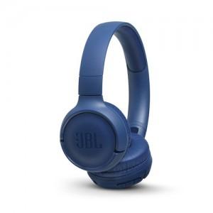 JBLCuffie Supra-Aurali Bluetooth TUNE500BT con Microfono Colore Blu