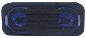 New Majestic Speaker Djpb-55 Ax Altoparlante Bluetooth Con Luci Led Multicolore