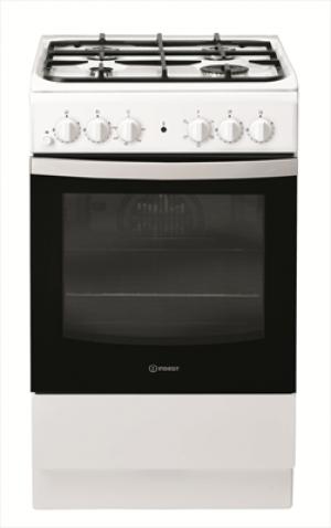 Indesit IS5G4KHW/EU Cucina a Gas 4 Fuochi con Forno Elettrico 50x60cm Bianco