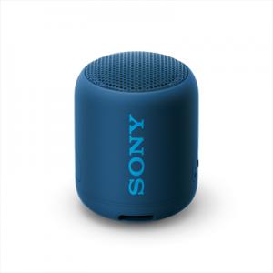 Sony SRS-XB12 Speaker Compatto Portatile Resistente all'Acqua con Extra Bass Blu
