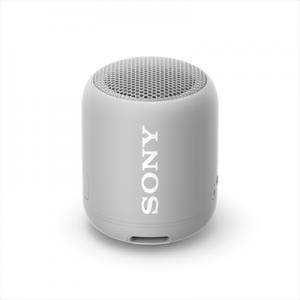 Sony SRS-XB12 Speaker Compatto Portatile Resistente all'Acqua con Extra Bass Grigio