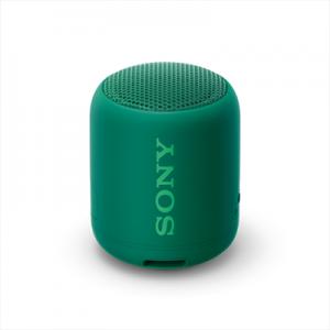Sony SRS-XB12 Speaker Compatto Portatile Resistente all'Acqua con Extra Bass Verde