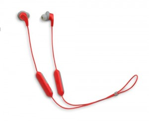Jbl Endurance RUN Cuffia Intra-Auricolari Sportivi Wireless Bluetooth Rosso