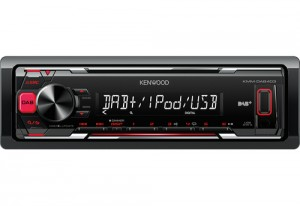 KENWOODAutoradio KMM-DAB403 colore Nero