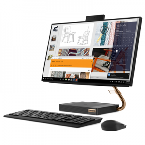 """Lenovo IdeaCentre A540 i5-9400t-6c 8Gb Hd 512Gb Ssd 23,8"""" Windows 10 Home"""