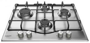 Ariston Hotpoint PCN 642 IX/HAR Piano di Cottura da Incasso a Gas Acciaio Inossidabile