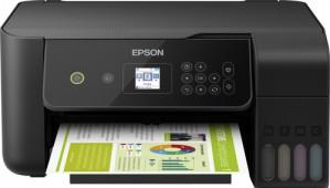 Epson EcoTank ET-2721 Stampante Multifunzione Colore Ink-Jet A4/Legal fino a 33ppm Usb Wi-Fi Nero